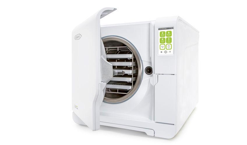 高圧蒸気滅菌器で滅菌処理